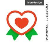 heart love icon   Shutterstock .eps vector #1011819265