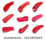collection of various lipstick... | Shutterstock . vector #1011845665