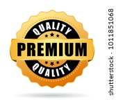 premium quality gold vector... | Shutterstock .eps vector #1011851068