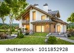 3d rendering of modern cozy... | Shutterstock . vector #1011852928