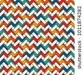 herringbone wallpaper. abstract ... | Shutterstock .eps vector #1011874282