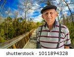 elderly 80 plus year old man...   Shutterstock . vector #1011894328