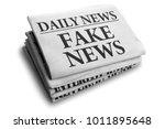daily news newspaper headline... | Shutterstock . vector #1011895648