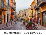 cefalu  italy   september 26 ... | Shutterstock . vector #1011897112