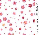 pink cherry sakura japanese... | Shutterstock .eps vector #1011906496