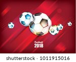 vector illustration football... | Shutterstock .eps vector #1011915016