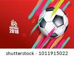 vector illustration football... | Shutterstock .eps vector #1011915022