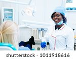 african american female dentist