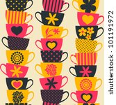 Seamless Pattern With Piles Of...