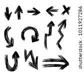 illustration of grunge sketch... | Shutterstock .eps vector #1011927286
