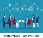 best team for business... | Shutterstock .eps vector #1011930406