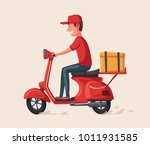 fast and free delivery. vector... | Shutterstock .eps vector #1011931585