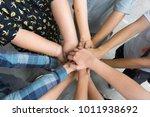 team work concept. business...   Shutterstock . vector #1011938692