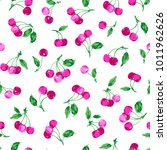 pattern of the cherry  i made a ... | Shutterstock .eps vector #1011962626