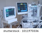 equipment and medical devices... | Shutterstock . vector #1011970336