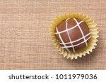 homemade chocolate truffle....   Shutterstock . vector #1011979036