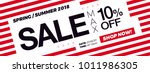 10  off discount. sale... | Shutterstock .eps vector #1011986305