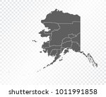 map of alaska   vector... | Shutterstock .eps vector #1011991858