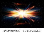 abstract black space background ... | Shutterstock .eps vector #1011998668