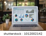 accounting financial concept. ... | Shutterstock . vector #1012002142