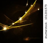 abstract vector background ... | Shutterstock .eps vector #101201575