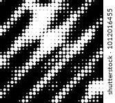 grunge halftone black and white ... | Shutterstock .eps vector #1012016455