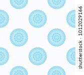 seamless ethnic pattern with...   Shutterstock .eps vector #1012029166