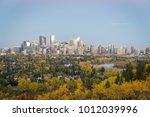calgary downtown skyline | Shutterstock . vector #1012039996