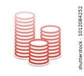 money sign illustration. vector.... | Shutterstock .eps vector #1012084252