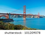 the golden gate bridge in san... | Shutterstock . vector #101209078