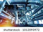 industrial zone  steel... | Shutterstock . vector #1012093972