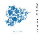 map of andorra filled with...   Shutterstock .eps vector #1012110166
