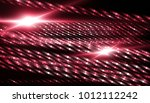 lights red background with rays.... | Shutterstock . vector #1012112242