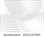 abstract halftone wave dotted... | Shutterstock .eps vector #1012127965