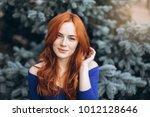 sensual close up outdoor... | Shutterstock . vector #1012128646