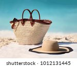 sun vacation beach winter... | Shutterstock . vector #1012131445
