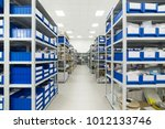 warehouse of components for the ... | Shutterstock . vector #1012133746