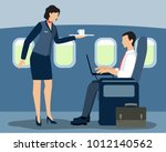 vector illustration of air... | Shutterstock .eps vector #1012140562