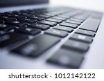 computer keyboard  black and... | Shutterstock . vector #1012142122