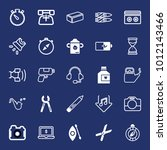 equipment filled and outline...   Shutterstock .eps vector #1012143466