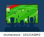 football tv translation.men... | Shutterstock .eps vector #1012143892