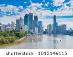 view of brisbane cbd and... | Shutterstock . vector #1012146115