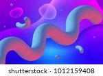 light pink  blue vector... | Shutterstock .eps vector #1012159408