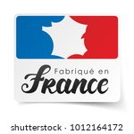 made in france   in french  ... | Shutterstock .eps vector #1012164172