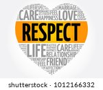 respect word cloud collage ... | Shutterstock .eps vector #1012166332