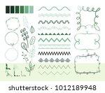 set of different vector... | Shutterstock .eps vector #1012189948