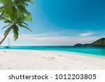 The White Sand Beach In...