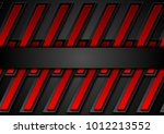 red and black contrast abstract ... | Shutterstock .eps vector #1012213552
