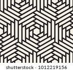 vector seamless pattern. modern ... | Shutterstock .eps vector #1012219156