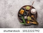from above different items for...   Shutterstock . vector #1012222792